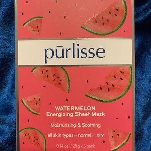 PURLISSE WATERMELON SHEET MASKS (6 PACK)
